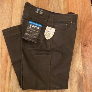 Men's KUHL Ryder Pants. 34x30. Forged Gray. New!